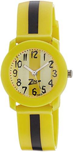 41K IX6mS4L - Zoop NDC3025PP03J Yellow Childrens watch