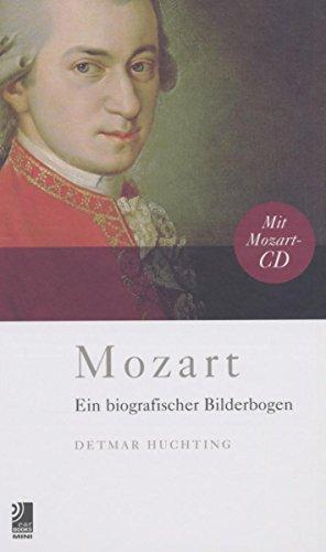 Mozart, Bildband m. 1 Audio-CD: Ein Biografischer Bilderbogen