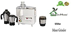 RGI Mark1 JS-103 Juicer Mixer Grinder, 550 Watt (3 Jar SS)