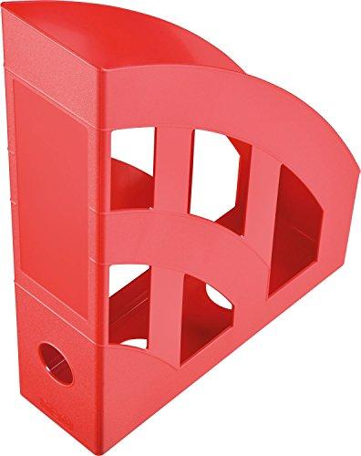 Helit Economy H2361025 Portariviste, formato A4-C4, colore: rosso