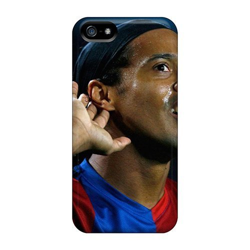 Iphone 5/5s Case, Premium Protective Case With Awesome Look - The Best Football Player Of Atletico Mineiro Ronaldinho