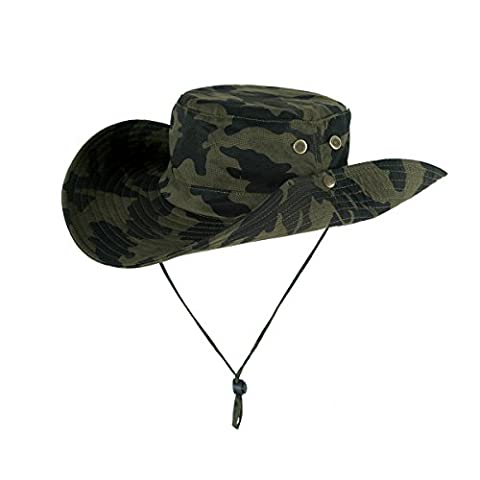 Pêche du godet, Sun Hat Boonie hat - iParaAiluRy Protection UV d