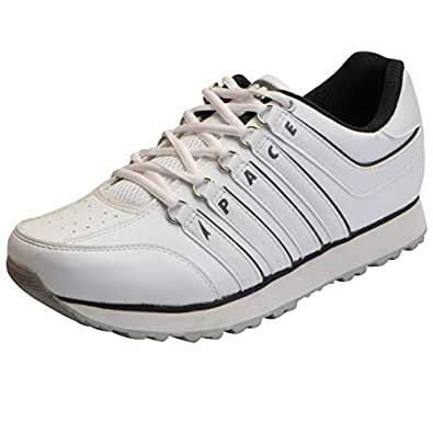 Lakhani Pace Men's White Grey Running Shoes PACE NH 17 0718-40