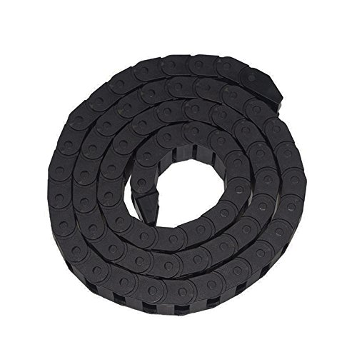 Haobase 10 x 20mm 1M Open On Both Side Plastic Towline Cable Drag Chain