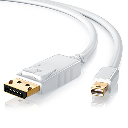 Ati Quad-display (CSL - 3m (Meter) Mini Displayport (miniDP) auf Displayport (DP) Kabel - Zertifiziert - 24K vergoldete Kontakte - PC & MAC / MAC, MacBook Pro, MacBookAir uvm.)