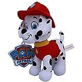 Marshall Peluche Perro Dalmata Bombero Rojo 35cm Patrulla Canina Serie TV Dibujos Animados Paw Patrol