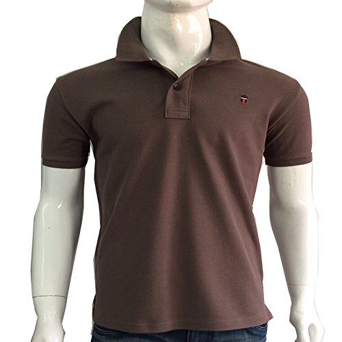 Men's Polo T-Shirt Half Sleeve  available at amazon for Rs.499
