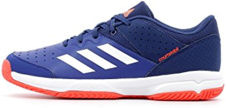 Adidas Court Stabil Jr, Zapatillas de Balonmano Unisex Adulto  -