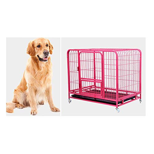 ZZQ Casa Grande Jaula Perro Animal doméstico Plegable