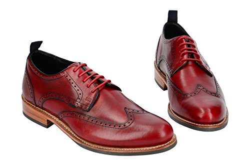 Gordon & Bros levet 5660 Flex N, Stivali Chukka Uomo Red F