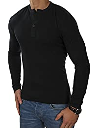 SELECTED HOMME Herren Langarmshirt shxPERTH Longsleeve Elasthan Regular Fit