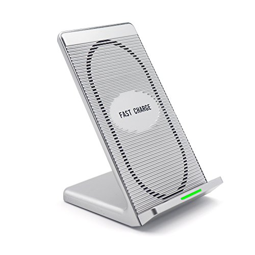 Ladegerät Kabellos Schnell, 10W Qi Pad Ladegerät Kabellos Schnell für iphone x/iPhone 8/8PLUS/Samsung Galaxy Note8/Note 5/S8/S8+/S7/S7Edge/S6Edge und andere kompatible Qi–Verkauft von udenx