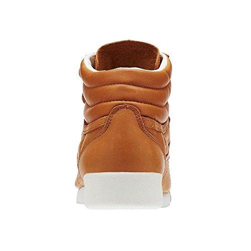 Zapatillas Reebok Freestyle Hi Face 35 Mujer Marrón Claro Marrón-blanco