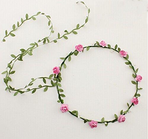HJHY® Girlanden, weiblich Kopfschmuck Braut Kopf Blume Sonnenblume Meer Urlaub Bilder machen Haarschmuck (Blume Krone Sonnenblume)