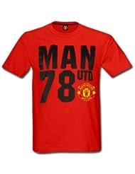 Manchester United 78 Crest T-Shirt