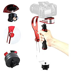 DynaSun Steadycam PRO 095EX Sistema Video di Stabilizzazione a Bilanciere per Videocamere/Macchine Fotografiche DSLR… 5 spesavip