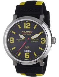 Formex 4 Speed 72511.708 - Reloj analógico automático para hombre con correa de silicona, color multicolor