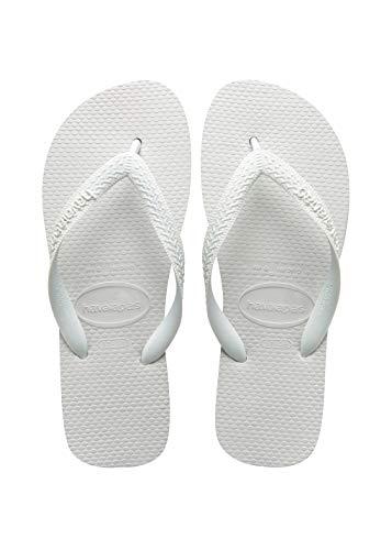 Havaianas Unisex Top Zehentrenner, Weiß (White 0001), 37/38 -