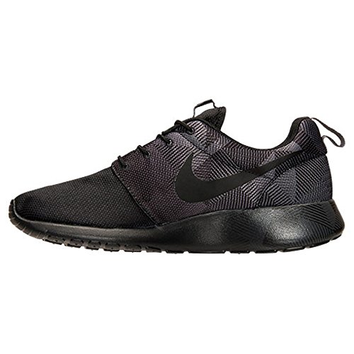 Nike Roshe One Print, chaussures de course homme Varios colores (Negro / Gris (Black / Black-Dark Grey))