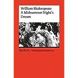 A Midsummer Night's Dream: (Fremdsprachentexte) (Reclams Universal-Bibliothek)