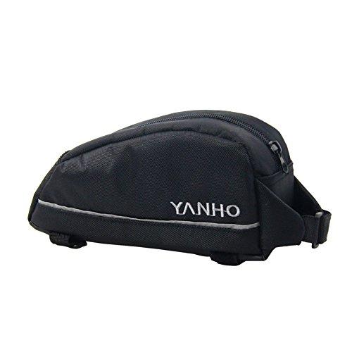 Cocohot Wasserdichte Front Frame Head Storage Pouch Fahrrad Taschen Schwarz