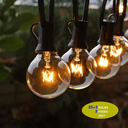 GiveU Outdoor String Lights, 25f...
