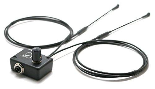 DER FEDER -2 Diatonisches Akkordeon PICKUP A Bass- und Höhen MIKROFON SYSTEM mit 2 flexible Micro - GOOSENECK MICS von Myers Pickups