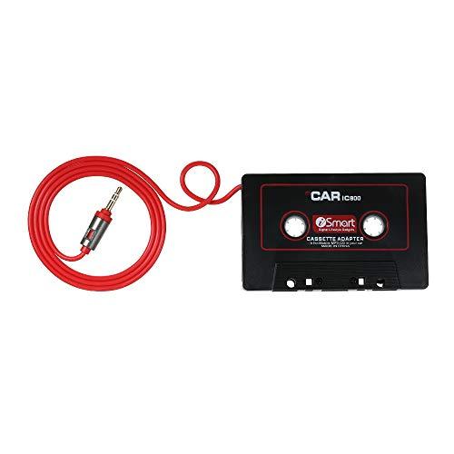 KKmoon Audio Adapter AUX Auto Kassetten Konverter 3.5MM für IOS Andriod Telefon MP3