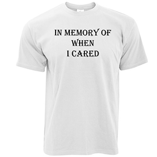 In Memory Of Wenn ich Cared Nihilist Gothic Metal Herren T-Shirt White