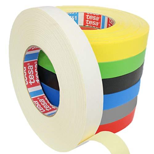 Tesa 4651 Premium Gewebeband verschiedene Breiten und Farben wählbar/weiß 19 mm x 50 m