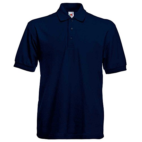 Fruit of the LoomHerren Langarmshirt Deep Navy
