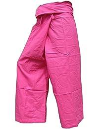 Panasiam Thai Fisherman - Pantalones tipo pescador, XL (a partir de 1,8 m de estatura)