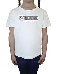 Cutter The Original Ocean Sprit Niña Niños Camiseta Cuello Redondo Blanco Algodón Manga Corta Girls Kids T-shirt White
