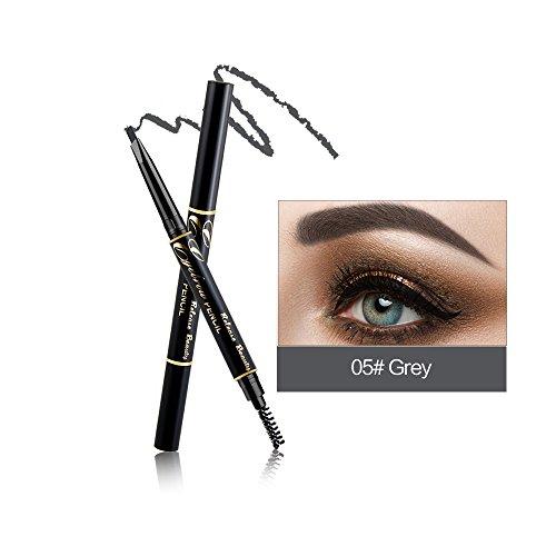 RELEASE BEAUTY Wasserdichte einziehbare langlebige Augenbrauenstift Eye Grey Nummer 5 -