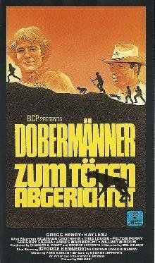 Dobermänner zum Töten abgerichtet [VHS-Video]