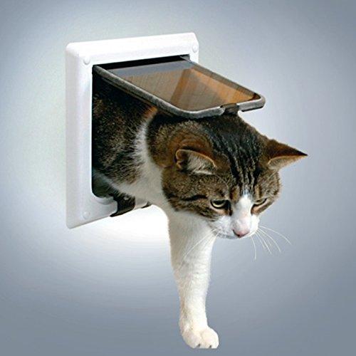 trixie katzenklappe 4 wege f r einen organisierten. Black Bedroom Furniture Sets. Home Design Ideas