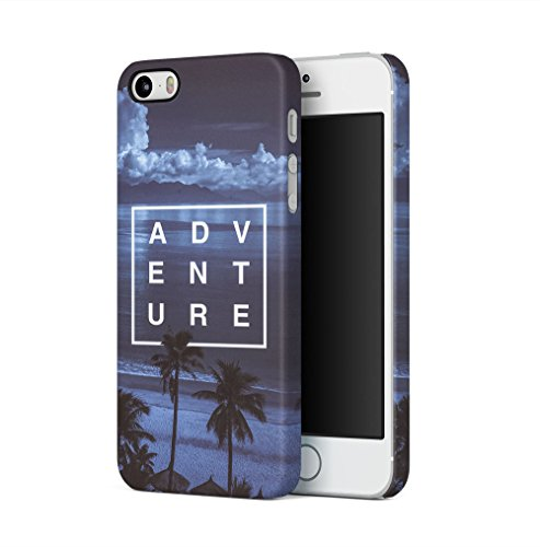 Adventure Night Beach Summer Ocean Good Vibes Apple iPhone 5 / iPhone 5S / iPhone SE SnapOn Hard Plastic Phone Protective Fall Handyhülle Case Cover (I Phone 5 Fällen Trippy)
