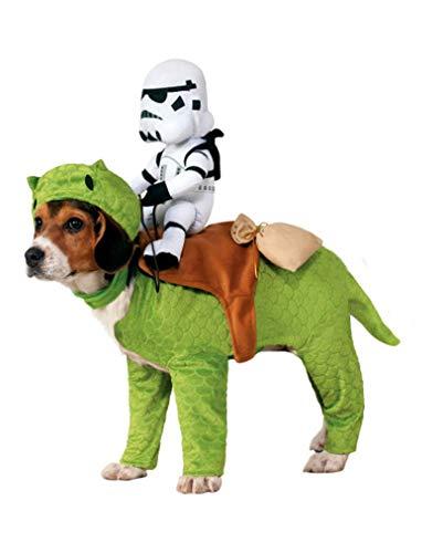 Dewback mit Stormtrooper Star Wars Hundekostüm - 10-18 kg