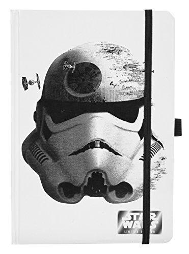 Undercover SWTS0602 - Notizbuch Star Wars Storm Trooper A5, 21 x 14,5 x 1 cm Preisvergleich