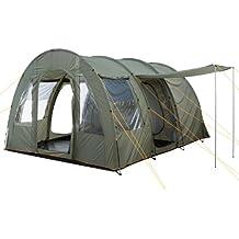 CampFeuer - Großes Tunnelzelt, olivgrün, 5000 mm Wassersäule, Campingzelt