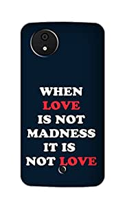 SWAG my CASE Printed Back Cover for Micromax Canvas A1
