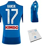 maglia ufficiale hamsik all time top scorer autografata