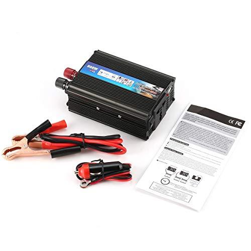 500 watt auto wechselrichter auto dc 12 v zu ac 220 v usb ladeger?t adapter solar outlet zigarettenanzünder stecker ge?ndert sinus welle (holz farbe) Ge Dvd-player