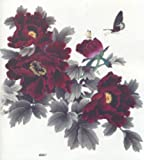 """SPESTYLE wasserdicht ungiftig temporäre Tätowierung stickersEXTRA LARGE Größe: 7.87 """"x 8.66 """" Zoll modische wasserdichte Frauen große Pfingstrose Blumen Tattoos für die Hälfte zurück"""