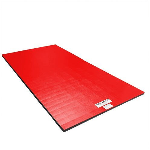 ''Dollamur Flexi Roll'' mat for fitness, punch bag, grappling 1 5m x 3 0m x  3 cm, red