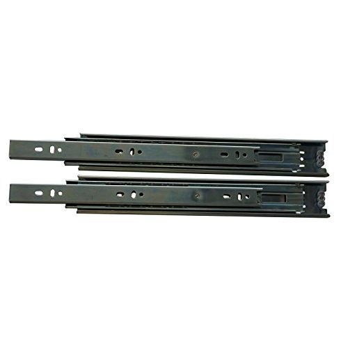SECOTEC Kugelführung 400 mm | Schubladen-Auszug | Vollauszug | 1 Paar