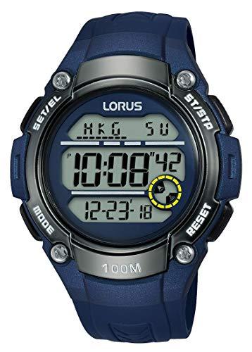 Lorus Reloj Digital para Hombre de Cuarzo con Correa en Silicona R2329MX9