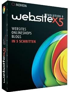 Website X5 Evolution 9 - 1User