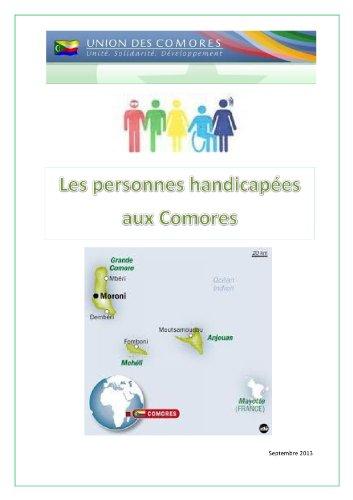 LES PERSONNES HANDICAPEES AUX COMORES por Abdillah Ahmad