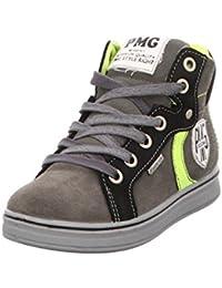 Primigi 86321 Sneakers Mid Scarponcini Bambino Gore-tex Camoscio Grigio nero 3db108ce137